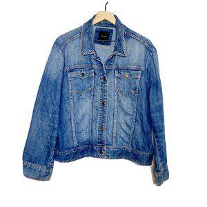 The Limited Medium Wash Classic Denim Jacket